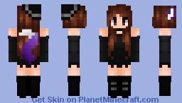 BOO! {Halloween Persona} Minecraft Skin