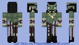 Swashbuckler Orc Minecraft Skin