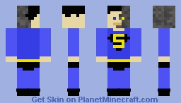 Robot Superman Minecraft Skin