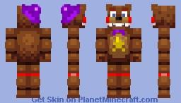RockStarFreddy Minecraft Skin