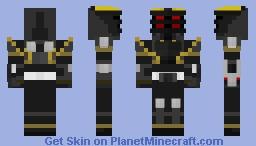 Kamen Rider Ryuga Minecraft Skin