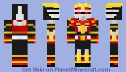 Kamen Rider Ryuki Survive Form Minecraft Skin