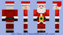 Santa (Concept) Minecraft Skin