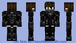 Ninja black Minecraft Skin