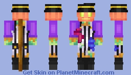 Mr. Cackles Minecraft Skin