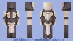 Sol, a not so generic knight thing Minecraft Skin