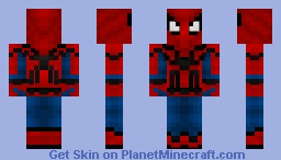 Spider-Man - Concept for MCU Minecraft