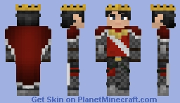Stonecrest King Real Minecraft Skin