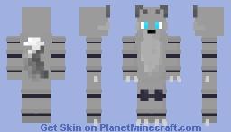 Toy Wolf (FNaF OC) Minecraft Skin