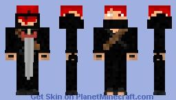 Ginga Ninja Minecraft Skin
