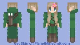 Wood Elf Ranger Minecraft Skin