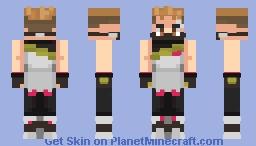 Fortnite: Drift Minecraft Skin