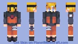 new shading? + Naruto i guess Minecraft Skin
