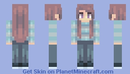 캐주얼웨어 | ★ (Casual Wear) Minecraft Skin