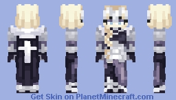 Ruler (Fate/Apocrypha) | Commission Minecraft Skin