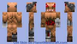 Cyber Demon (Doom) Minecraft Skin