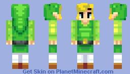 Toon Link Wind Waker HD Minecraft Skin