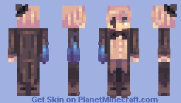 Bill Cipher Minecraft Skin