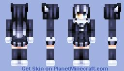 Gray Wolf Minecraft Skin