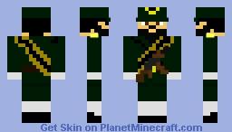 Iranian Revolutionary Guard Soldier Minecraft Skin