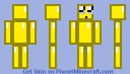 Yellow Diamond Minecraft Skin