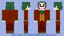Joker - Joaquin Phoenix Minecraft Skin