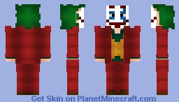 The Joker (Joaquin Phoenix) Minecraft Skin