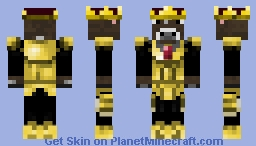 King Cow | CaptainPapo Minecraft Skin