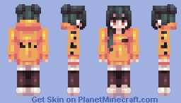 "📜ℭ𝔥𝔞𝔟𝔦𝔩𝔲𝔩𝔲📜""Bi☣️hazard"" [FS] for HoneyBunny Minecraft Skin"