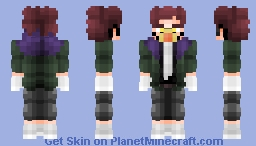 Overhaul My Hero Academia (Corrected colors) Minecraft Skin