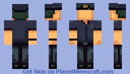 Patrick Dooley (The Darkside Detective) Minecraft Skin