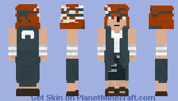 Iwabee Yuino Minecraft Skin
