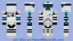 Clone Trooper Lieutenant Minecraft Skin