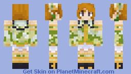 Hanayo Koizumi China Dress Set Minecraft