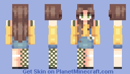 lemon boy & me Minecraft Skin