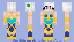 Lunar Empress Lux from league of legends Minecraft Skin