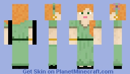 Alex Goes out Minecraft Skin