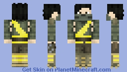 Shirai Ryu TAKEDA Minecraft Skin