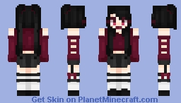 contest entryyyy 👀👀 (better in 3d I guess) Minecraft Skin