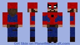 Spider-Herc Minecraft Skin