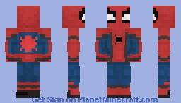 Spider-Man: Homecoming (Stark Suit) Minecraft Skin