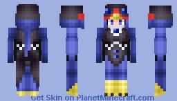 Lyrilusc - Sapphire Swallow Minecraft Skin