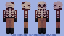 Skeleton [Elven's Skintober 2018] Minecraft Skin