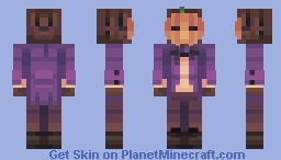 Pumpkins and Candles Minecraft Skin
