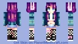 Random ✿ Piece of art Minecraft Skin