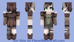 Battle Scars~ [RQ] Minecraft Skin