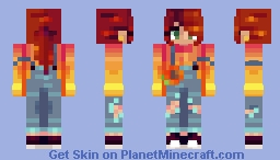 Cold Autumn Minecraft Skin