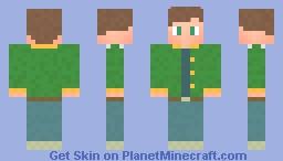 Alex - Stardew Valley Minecraft Skin