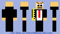 Vampire Baldi Skin Minecraft Skin