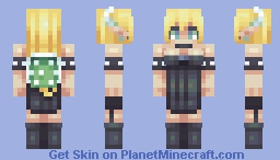 Bowsette Minecraft Skin